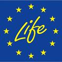 Logo du programme LIFE de la Commission européenne dans le cadre duquel MREnvironnement fait du suivi technique et financier de projets.